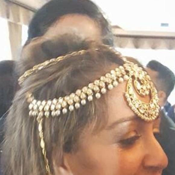 Jewelry Stunning Statement Indian Bridal Headpiece Poshmark
